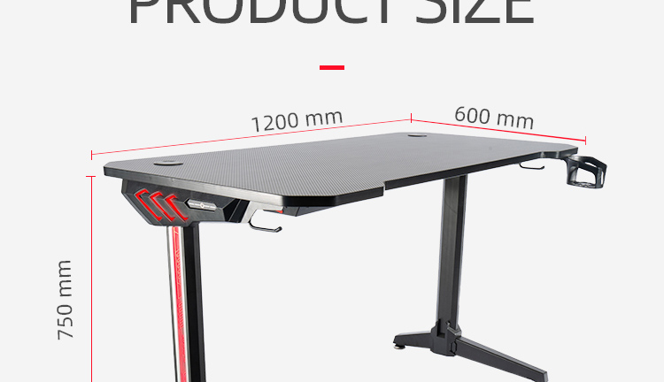 140cm-Gamer-table-with-T-shpe-legs-and-mouse-pad-Model-LY (11)