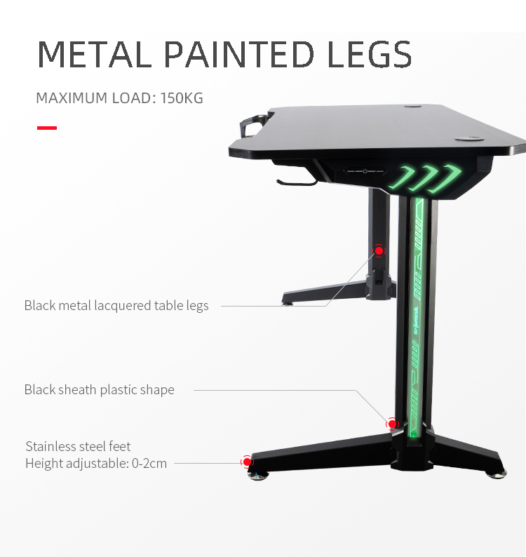 140cm-Gamer-table-with-T-shpe-legs-and-mouse-pad-Model-LY (4)