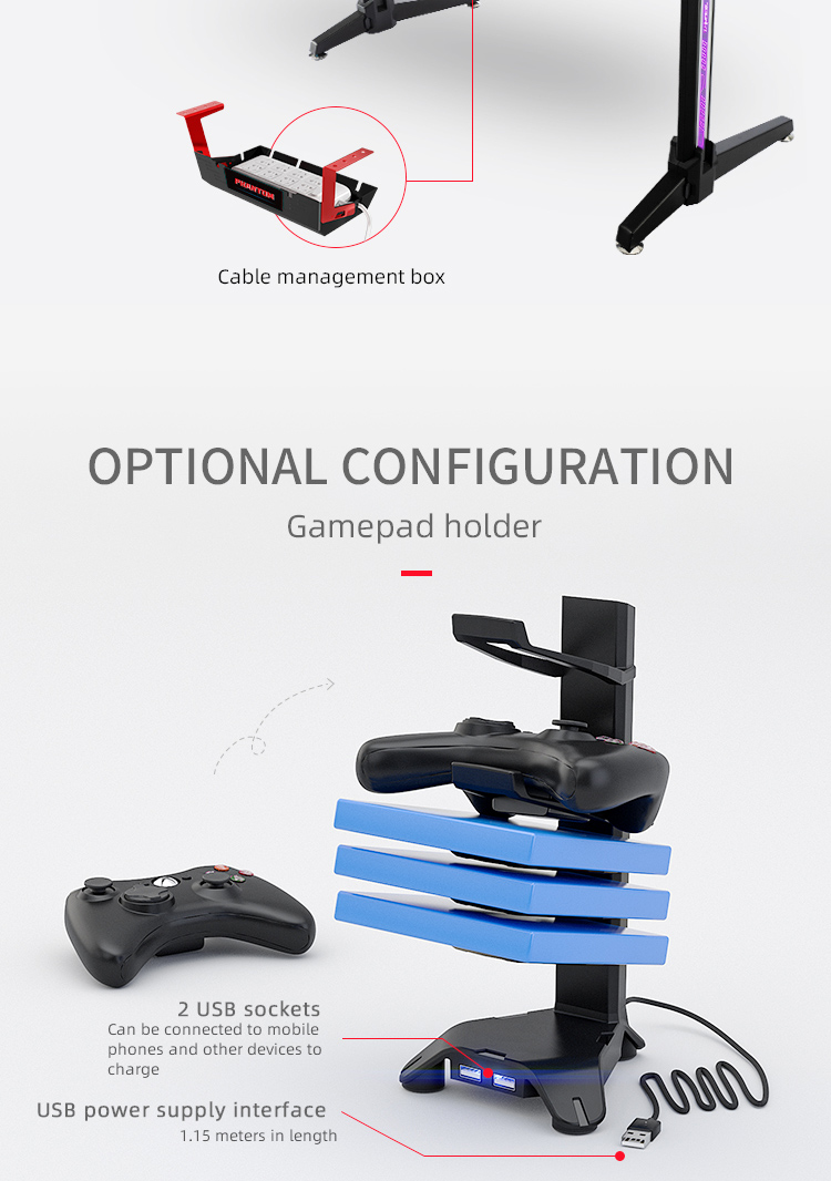 140cm-Gamer-table-with-T-shpe-legs-and-mouse-pad-Model-LY (9)