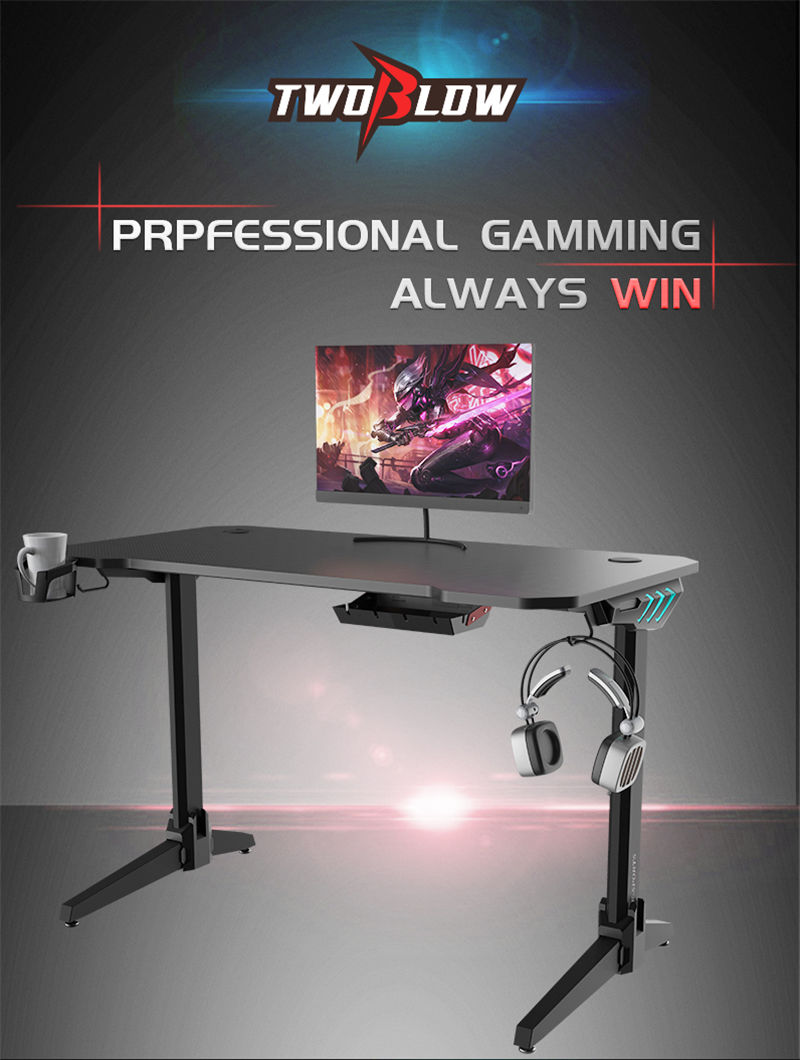 Gaming Desk With RGB Model LY (11)