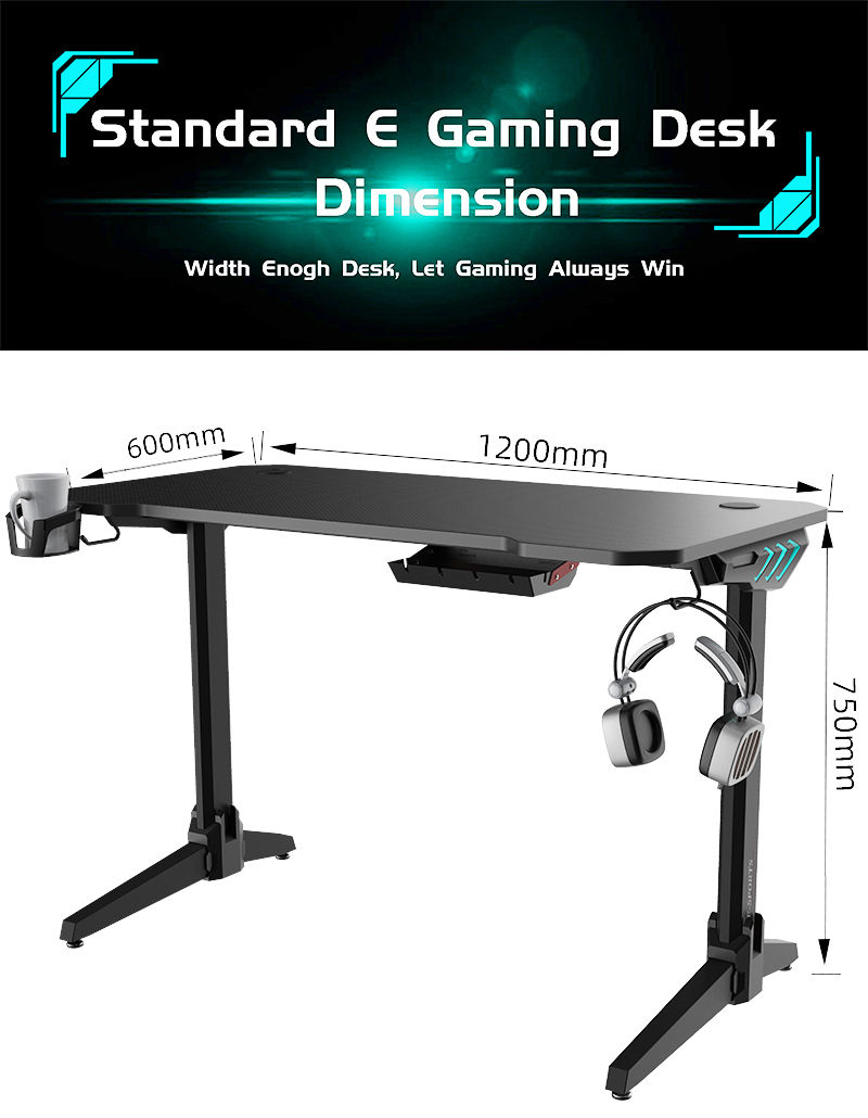 Gaming Desk With RGB Model LY (17)