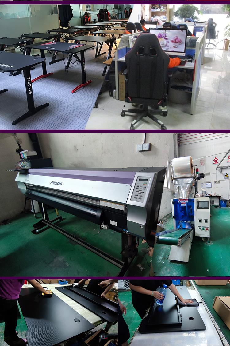 R shape economy gaming desk GT-01 (13)