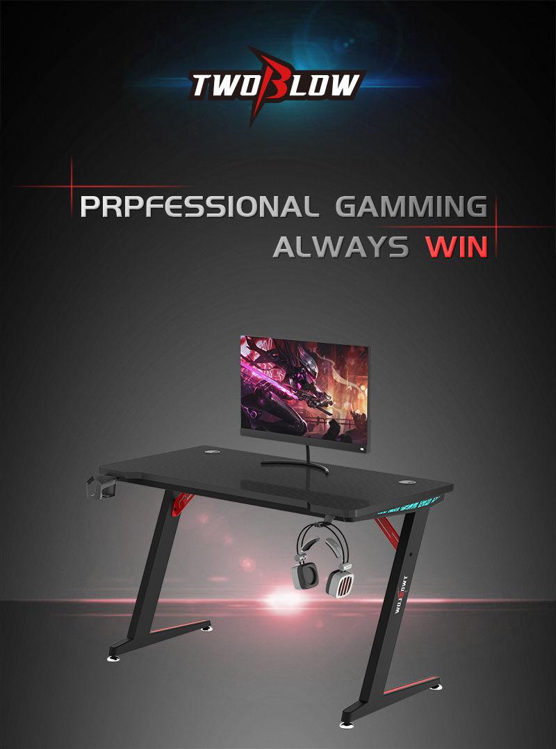 RGB Gamer Desk with remote control model Z-A (1)