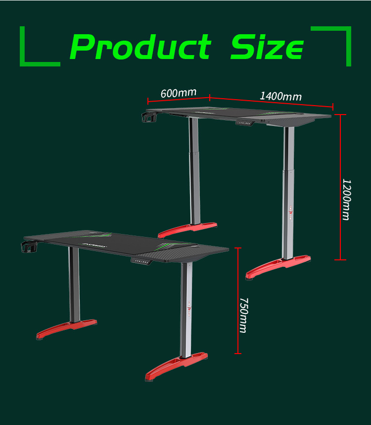 liting-table size